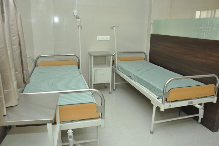 Patient Beds- inside hospital