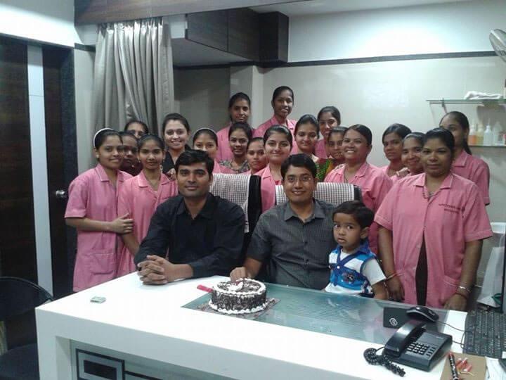 Mothercare IVF, Surat center staff